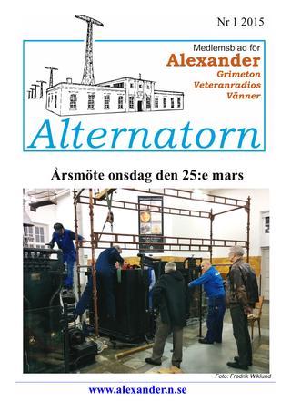 Alternatorn Nr 1 2015