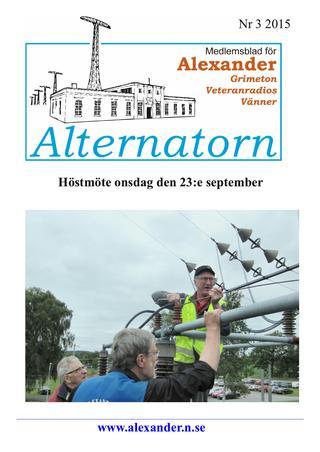 Alternatorn Nr 3 2015
