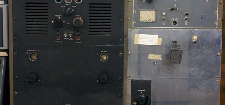 Kortvågssändare K1 – Collins 202 A-1 – 1939
