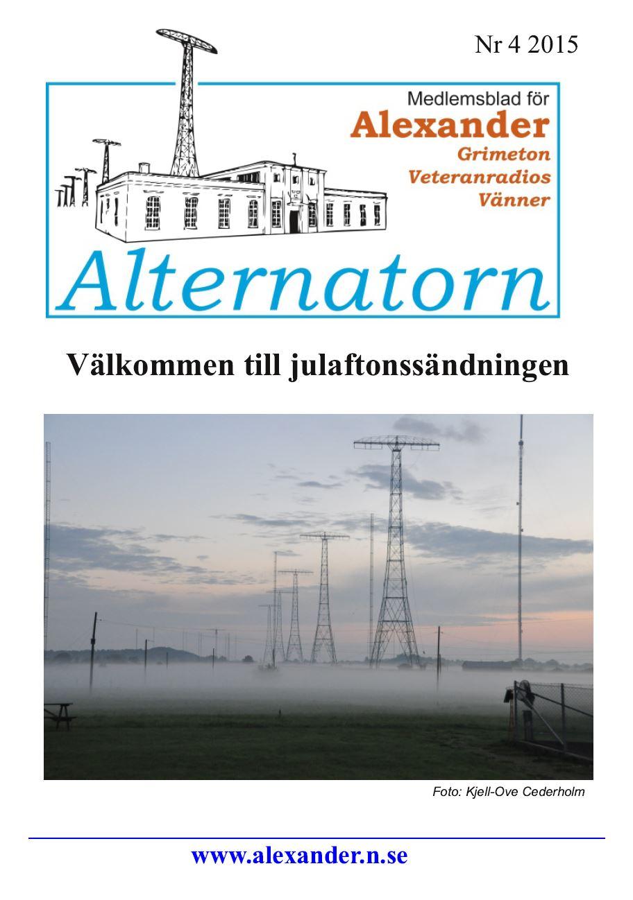 Alternatorn nr 4, 2015