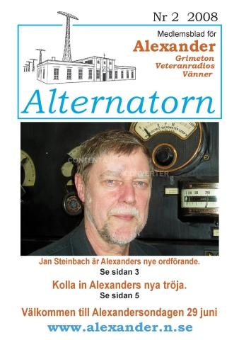 Alternatorn nr 2, 2008