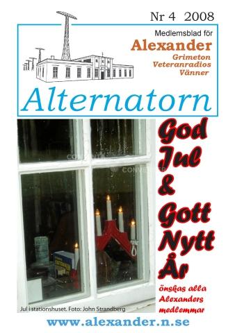 Alternatorn nr 4, 2008