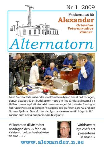 Alternatorn nr 1, 2009