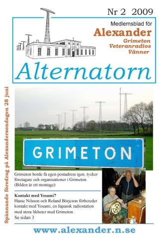 Alternatorn nr 2, 2009