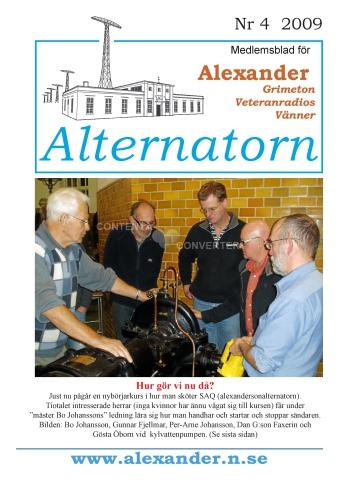 Alternatorn nr 4, 2009