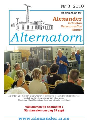 Alternatorn nr 3, 2010