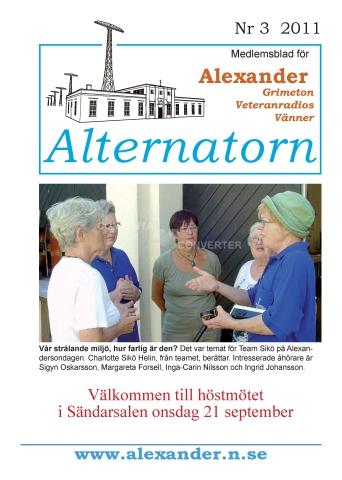 Alternatorn nr 3, 2011