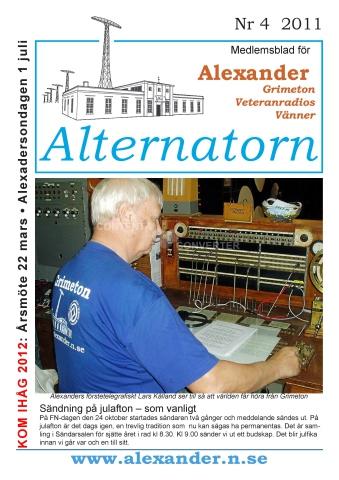 Alternatorn nr 4, 2011
