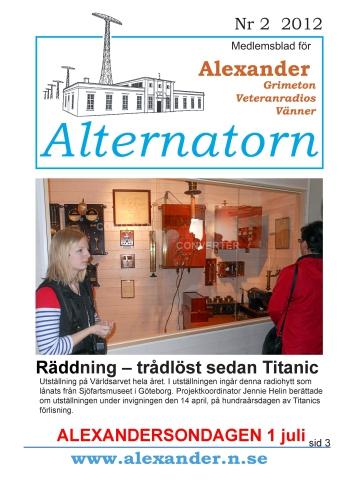 Alternatorn nr 2, 2012