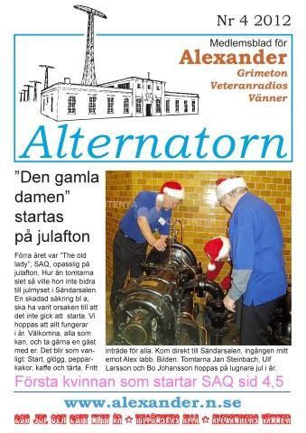 Alternatorn nr 4, 2012
