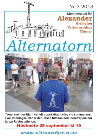 Alternatorn nr 3, 2013
