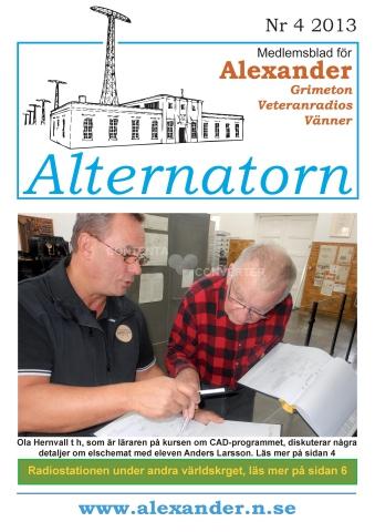 Alternatorn nr 4, 2013