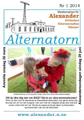 Alternatorn nr 1, 2014