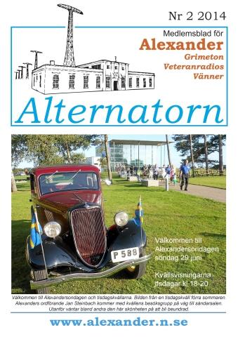Alternatorn nr 2, 2014