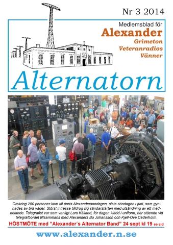 Alternatorn nr 3, 2014
