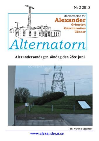 Alternatorn nr 2, 2015