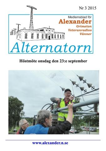 Alternatorn nr 3, 2015