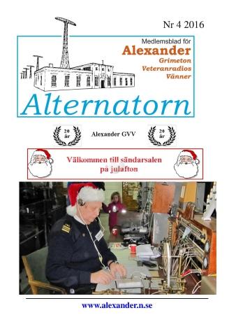 Alternatorn nr 4, 2016