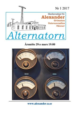 Alternatorn nr 1, 2017