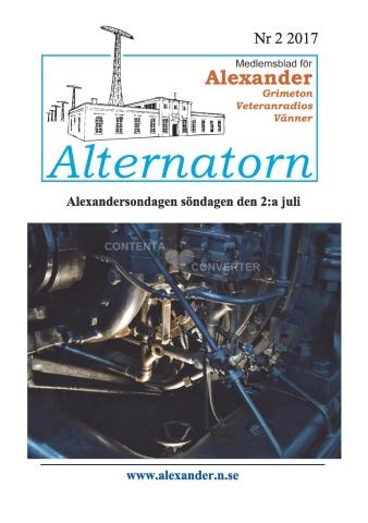 Alternatorn nr 2, 2017
