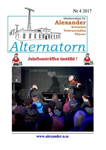 Alternatorn nr 4, 2017